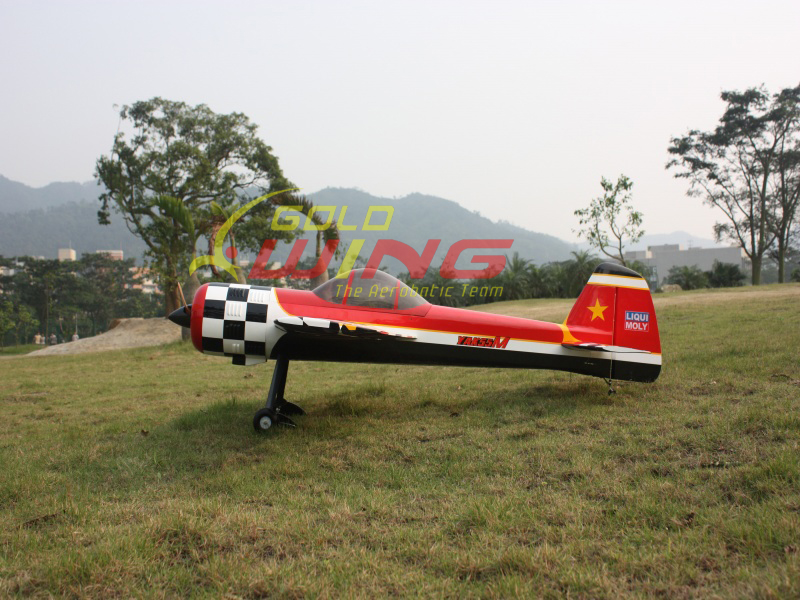 Mile High Rc Yak55m 30cc Gold Wing Rc Eg Aircraft Rc