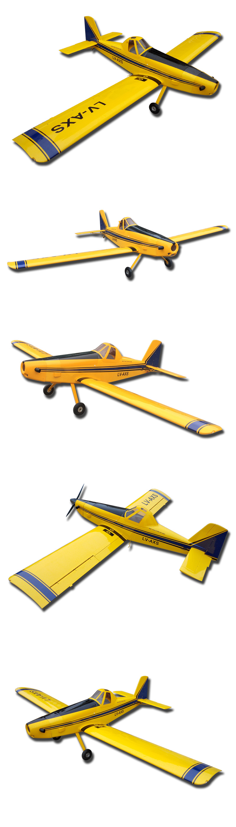 Mile High Rc 110 Quot Air Tractor 502 At 502 Piper Pawnee