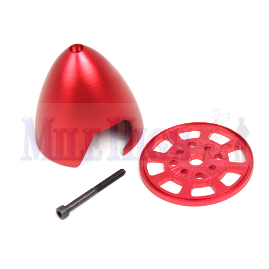 Red Pre Drilled spinner