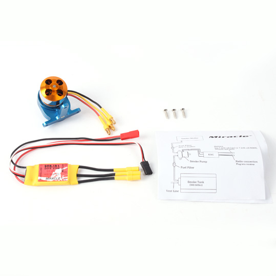 brushless smoke pump