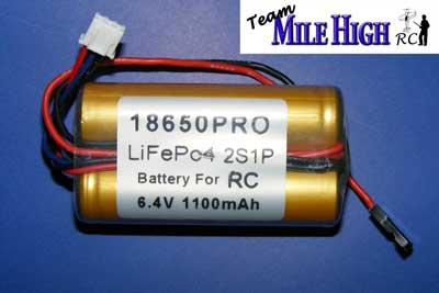 1100mah A123, rc ignition battery