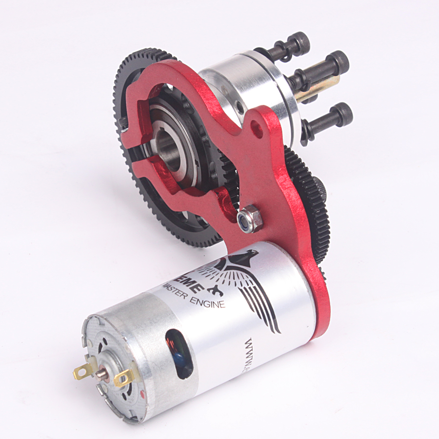 Mile high rc eme auto starter dle electric start dle for How to make an electric bike with a starter motor